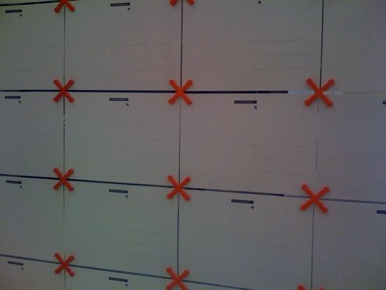 Card wall detail