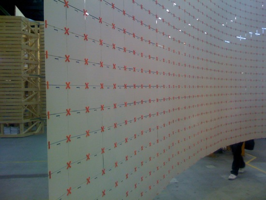 Wall of cards