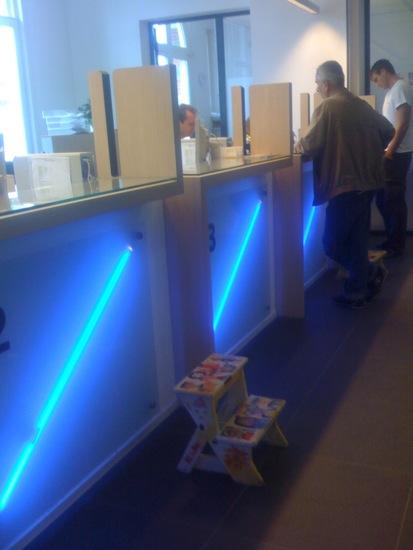 Service desk at Westerpark