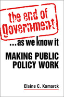 The end of government as we know it