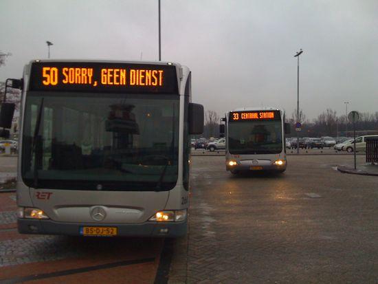 Is Rotterdam bus transport into service design?