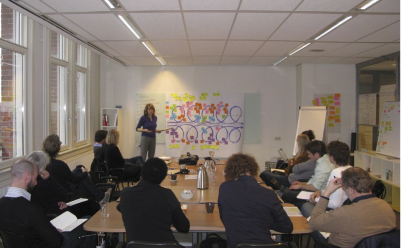 Exploring creative leadership for THNK