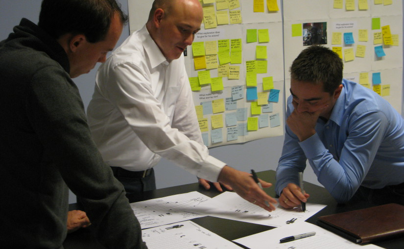 In-house Service Design training