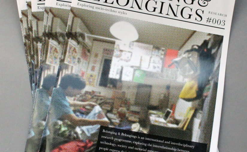 Belonging & Belongings: Design Research Through Visual Explorations