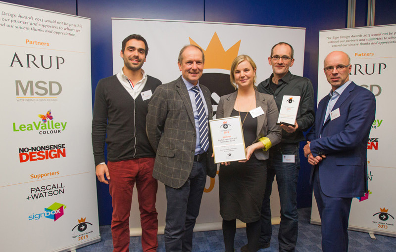 STBY collects Sign Design Award