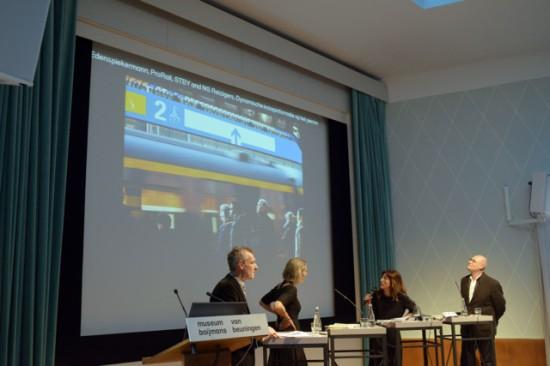 The jury debate at Boijmans van Beuningen Rotterdam