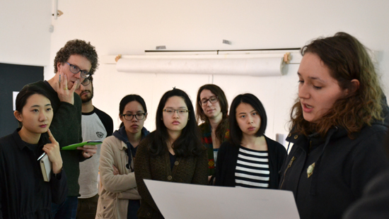 Students Presenting Engaging Design projects at Goldsmiths