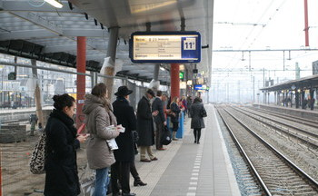 Collaborating to improve train traveller services