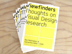 Viewfinders: Thoughts on Visual Design Research
