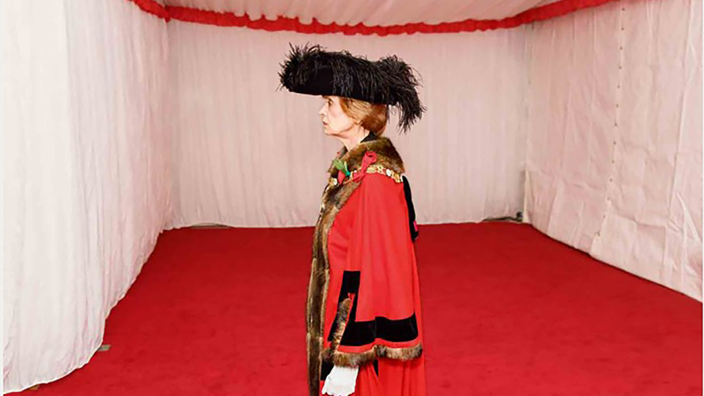 Lord Mayor Fiona Wolff at swearing in ceremony.