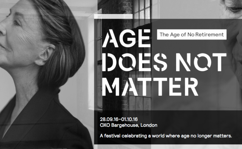 Age Does Not Matter poster for festival